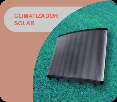 Colector solar (calentador para piletas)